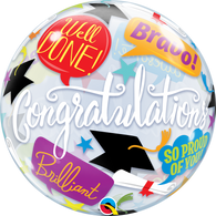 Bubble Graduation Accolades Balloon | Qualatex