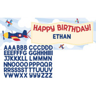 Lil' Flyer Airplane Giant Party Banner | Creative Converting