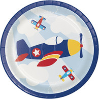 Lil' Flyer Airplane Snack Plates | Creative Converting