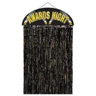 Door Curtain Award Night Black | Beistle