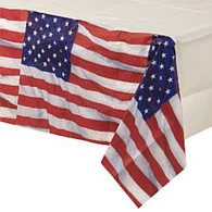 American Flag Flying Colours Paper Tablecover | Amscan