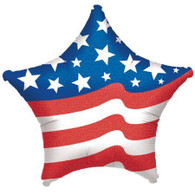 American Flag Star Foil Balloon | Anagram