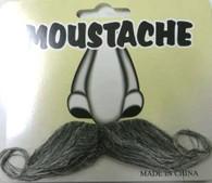 Moustache Grey Curly | Interalia