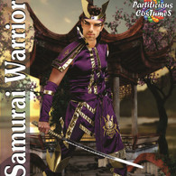 Samurai Warrior Purple Gold Costume | Partilicious