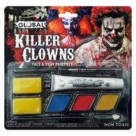 Killer Clowns Face & Body Paint Set | Global Colours