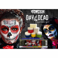 Day of the Dead Face Paint Set   Global Colours