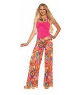 1960's Paisley Yoga Pants Med - Large | Forum Novelties