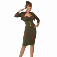 1940's Sexy Army Girl Outfit | Smiffy's