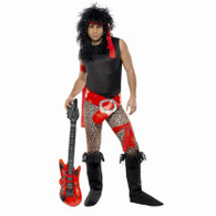 1980's Super Rock Star Costume | Smiffy's