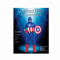 Captain Hero Adult Costume | Cutprice Costumes