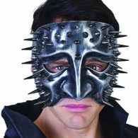 Lazzero Face Mask with Spikes Silver | Dr Tom's
