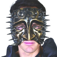 Lazzero Face Mask with Spikes Gold | Dr Tom's