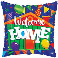 Welcome Home Square Foil Balloon | Kaleidoscope