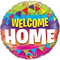 Welcome Home Foil Bunting Balloon | Qualatex