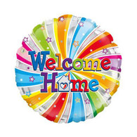 Welcome Home Foil Swirl Balloon | Oaktree