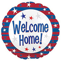 Welcome Home Foil Stars Balloon | CTI Industries