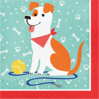 Dog Party Paper Luncheon Napkins | Creative Converting