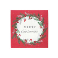 Christmas Botanical Berry Luncheon Napkins | Talking Tables