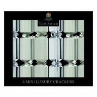 Christmas Silver Mini Luxury Crackers | Tom Smith