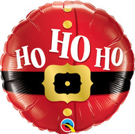 Foil Ho Ho Ho Santa Christmas Balloon | Qualatex