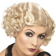 1920's Flirty Flapper Wig Blonde | Smiffy's