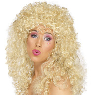1980's Boogie Babe Blonde Wig | Smiffy's