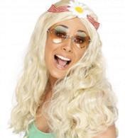 1960's Groovy Hippy Blonde Wig | Smiffy's