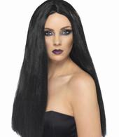 Halloween Witch Black Wig   Smiffy's