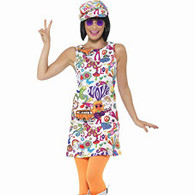 1960's Groovy Chick Costume | Smiffy's