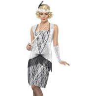 1920's Silver Flapper Costume | Smiffy's