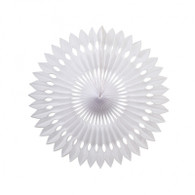 Hanging Fan White 40cm | Artwrap