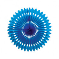 Hanging Fan True Blue 40cm | Five Star Party