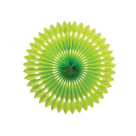 Hanging Fan Lime Green 40cm | Five Star Party
