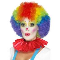 Clown Neck Ruffle Red | Smiffy's