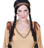 Cheyenne Native American Indian Female Wig | Dr Tom's