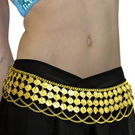 Bollywood Gold Coin Belt Jewellery |