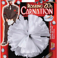 1920's Buttonhole White Carnation | Forum Novelties