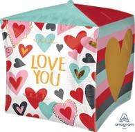 Cubez Valentine's Day Trendy Love Balloon | Anagram