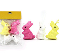 Easter Hanging Glitter Bunnies | TNW Australia