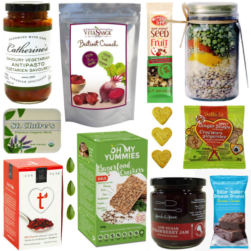 Sweet and Savoury Wellness Gourmet Gift Basket