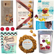 Snacks on the Run Vegan Gourmet Gift Basket