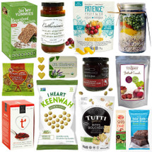 Sweet and Savoury Wellness Deluxe Gift Basket for Get Well Wishes