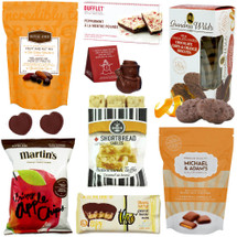 Sweet Chocolate Bliss Gift Basket with Cookies and Hot Chocolate
