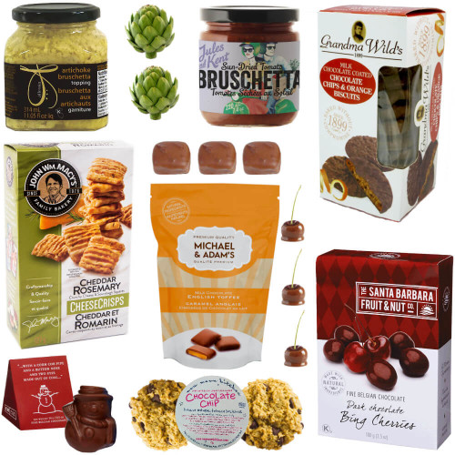 Sweet and Savoury Gourmet Gift Basket of All Natural and Organic Snacks