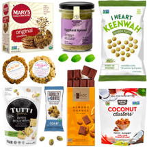 Sweet and Savoury Vegan Delights Gift Basket