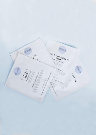 FACE + EYE Mask and NECK + DÉCOLLETÉ Mask 4 pack