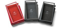 Elegant Astell & Kern SR15 PU Cases available in Charcoal Grey, Crimson Red, and Neo Black at Hi-Fi Headphones Canada