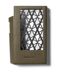 Olive Green Minerva leather from 'Badalassi Carlo' Astell & Kern KANN CUBE Leather Case - Sleek, geometric design made for protection and ventilation of your KANN CUBE at Hi-Fi Headphones Canada