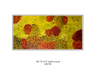 Fall in Hamilton (Sold)/ Artist: Lipika Sen/ Medium: Acrylic on Canvas