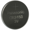 Panasonic CR2450 Battery - 3V Lithium Coin Cell